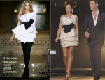 X Factor: Saturday Week 9 – Cheryl Cole In Stéphane Rolland Couture