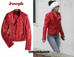 In Cheryl Cole's Closet – Joseph Perfeto Leather Biker Jacket