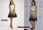 In Alexa Chung's Closet - Valentino Floral Silk A-Line Dress