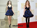 Emma Roberts In Julien Macdonald - 2010 British Fashion Awards