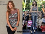 In Selena Gomez' Closet - Free People Sleeveless Floral Top