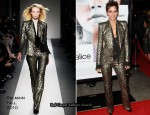 "Halle Berry In Balmain - ""Frankie and Alice"" LA Premiere"