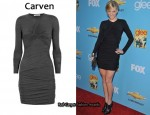 In Heather Morris' Closet - Carven Body-Con Dress