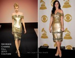 Katy Perry In Georges Chakra Couture - Grammy Nominations Concert Live