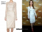 In Nicole Kidman's Closet - Dolce & Gabbana Long Sleeve Lace Dress