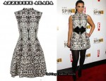 In Kim Kardashian's Closet - Azzedine Alaia Guepard Print Dress