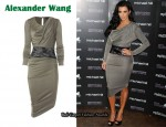 In Kim Kardashian's Closet - Alexander Wang Goddess Dress