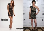 In Kristen Stewart's Closet - Valentino Lace One Shoulder Dress
