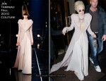 Runway To Sidewalk - Lady GaGa In Jan Taminiau