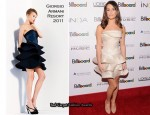 Lea Michele In Giorgio Armani - Billboard's 5th Annual Women In Music Awards