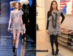 Liv Tyler In Christian Dior - Dior 57th Street Boutique Re-Opening