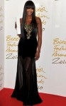 Naomi Campbell In Alexander McQueen - 2010 British Fashion Awards
