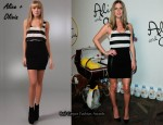 In Nicky Hilton's Closet - Alice + Olivia Nicky Blouson Tank Dress