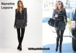 In Nicky Hilton's Closet - Nanette Lepore Ginjoint Zip Sweater