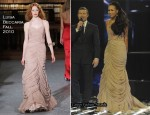 X Factor Saturday Final: Rebecca Ferguson In Luisa Beccaria, Richard Sorger & William Tempest