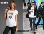 In Nicky Hilton's Closet - Sauce Karl Tee