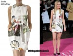 In Kirsten Bell's Closet - Stella McCartney Botanical Print Dress