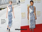 Thandie Newton In Peter Pilotto - 2010 British Fashion Awards