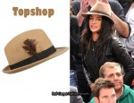 In Jessica Szohr's Closet - Topshop Trilby