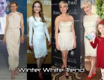 Red Carpet Trend - Winter Whites