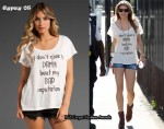 In AnnaLynne McCord's Closet - Gypsy 05 Bad Reputation Tee