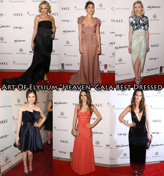 """Who Was Your Best Dressed At The Art Of Elysium """"Heaven ..."""