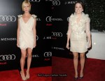 Brittany Snow In French Connection & Sophia Bush In Oliver Tolentino - Audi And J. Mendel Celebrate The 2011 Golden Globe Awards