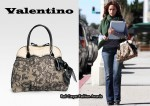 In Jennifer Love Hewitt's Closet - Valentino Nuage Lace Bag