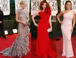 2011 Golden Globes Red Carpet Round-Up