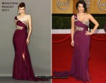 Kim Kardashian In Marchesa - 2011 SAG Awards