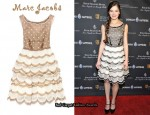 In Hailee Steinfeld's Closet - Marc Jacobs Scalloped Organza Dress