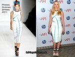 Jennifer Lawrence In Prabal Gurung - 2011 AFI Awards