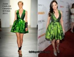 "Rose McGowan In Juan Carlos Obando - People StyleWatch Hosts ""A Night Of Red Carpet Style"""