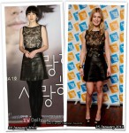 Who Wore Valentino Better? Im Soo Jung or Rosamund Pike