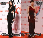 Best Dressed Of The Week - Li Ai In Gucci & Tu Jingwei In Badgley Mischka