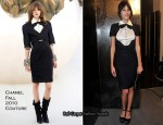Alexa Chung In Chanel – Haute Couture Paris Fashion Week