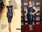 Amy Adams In Carolina Herrera - 2011 Critics' Choice Awards