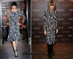 Anna Wintour In Tom Ford - Gucci Rue Royale Reopening Party
