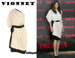 In Jessica Biel's Closet - Vionnet One Shoulder Dress