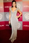Camilla Belle In Giorgio Armani - 2011 InStyle/Warner Brothers Golden Globes Party