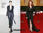 Christina Hendricks In L'Wren Scott - 2011 SAG Awards