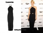 In Claire Danes' Closet - Lanvin Chain Halter Gown