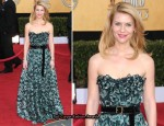 Claire Danes In Louis Vuitton - 2011 SAG Awards