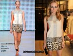 Diane Kruger In Giambattista Valli – Giambattista Valli Paris Boutique Opening