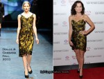"Minnie Driver In Dolce & Gabbana - ""Barney's Version"" New York Premiere"