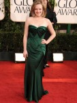 Elisabeth Moss In Donna Karan - 2011 Golden Globe Awards