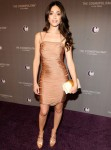 Emmy Rossum In Julien Macdonald & Bottega Veneta – Marquee Nightclub In The Cosmopolitan VIP Opening