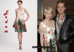 In Michelle Williams' Closet - Erdem Freya Floral Dress