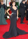 Eva Longoria In Zac Posen – 2011 Golden Globe Awards