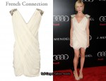In Brittany Snow's Closet - French Connection Glitter Dress
